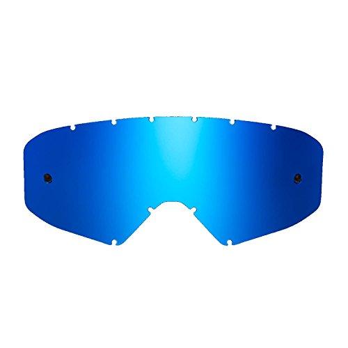 SeeCle 41V207 lenti di ricambio per maschere blu specchiato compatibile con maschera Ethen 05