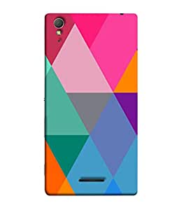 PrintVisa Diamond In A Rough 3D Hard Polycarbonate Designer Back Case Cover for Sony Xperia T3