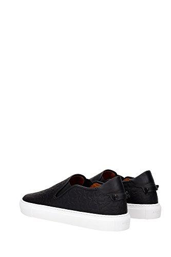 BM08223323001 Givenchy Pantoufle Homme Cuir Noir Noir