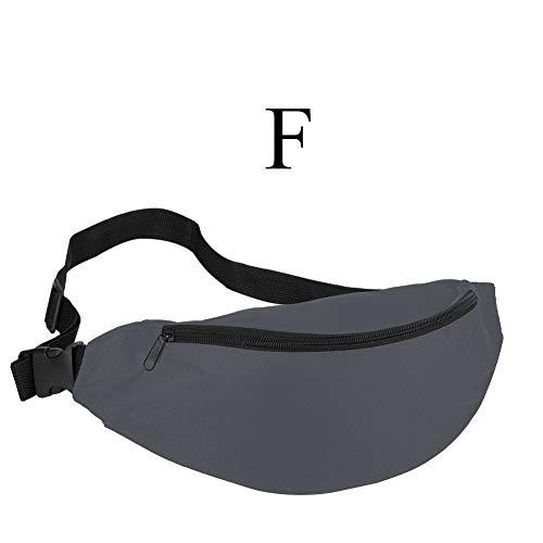37e7bcb4ac1d HAOLIEQUAN Fanny Pack For Women Men Waist Bag Colorful Unisex Waistbag Belt  Bag Zipper Pouch Packs 110Cm Belt Length Factory,F