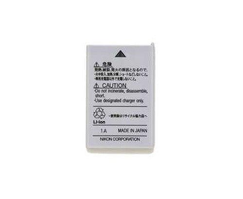 Nikon EN-EL5 Li-Ion Battery Pack Lithium-Ion (Li-Ion) 1100mAh 3.7V Wiederaufladbare Batterie - Wiederaufladbare Batterien (1100 mAh, Lithium-Ion (Li-Ion), 3,7 V, Grau) (3700 Coolpix Nikon)