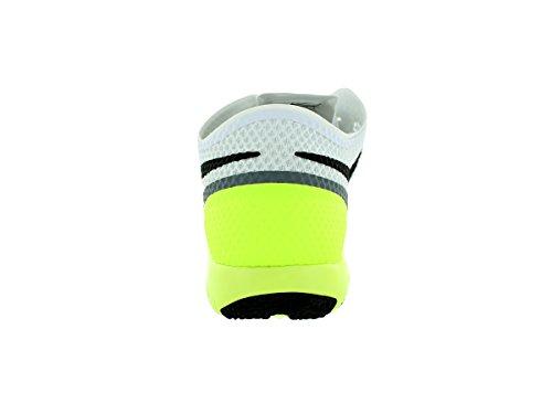 Nike Free Trainer 3.0 Herren Fußballschuhe Weiß (Weiß/Grau-Schwarz)