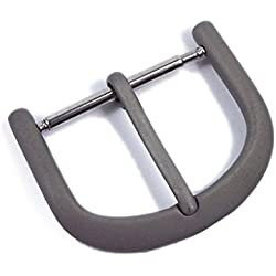 Minott replacement clasp Thorn Clasp standard made of Titanium for Leather Straps 21535, Abutting:10 mm