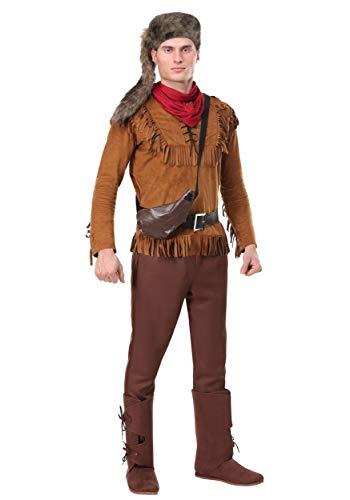 Fun Costumes Davy Crockett Kostüm für Herren - L