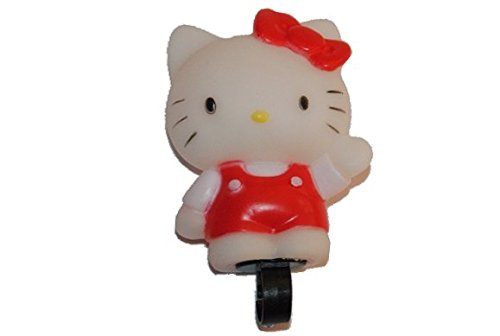 Fahrradklingel Hello Kitty Fahrrad Quietsch Hupe rosa pink Katze Kinderglocke