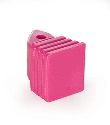 Inliner-Bremse Bremsstopper Bremsklotz aus Plastik für Inlineskates Croxer Balloon 37-40,40-43 (pink)