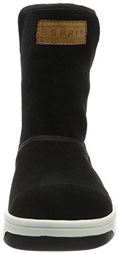 Esprit Ducky, Bottes Souples Femme Noir (001 Black)
