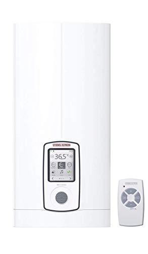 Stiebel Eltron vollelektronisch Geregelter Durchlauferhitzer Dhe Connect 27 kW, umschaltbar, Internetradio, WLAN, TOUCH-Display, Eco-Modus, App-Bedienung, Verbrauchsanzeige/-Kosten, 234468