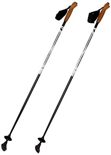 Best Sport Carbon Nordic Walking Stöcke, mehrfarbig, 105 cm