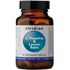 Viridian L-Theanine & Lemon Balm 90 Veg