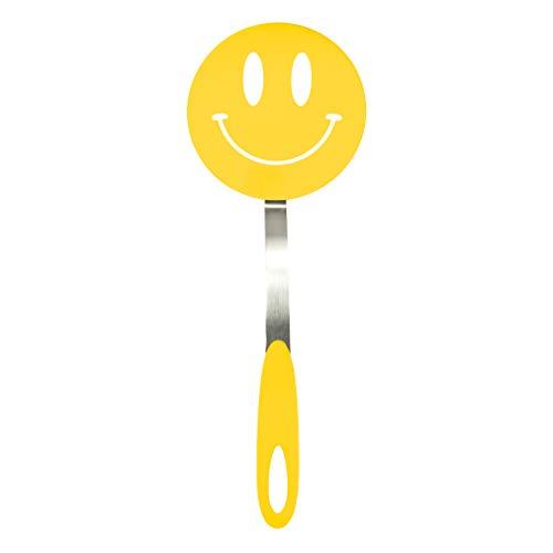 Tovolo 11 Zoll, Motiv Smiley Nylon Flex Turner, Gelb - Nylon-flex Turner