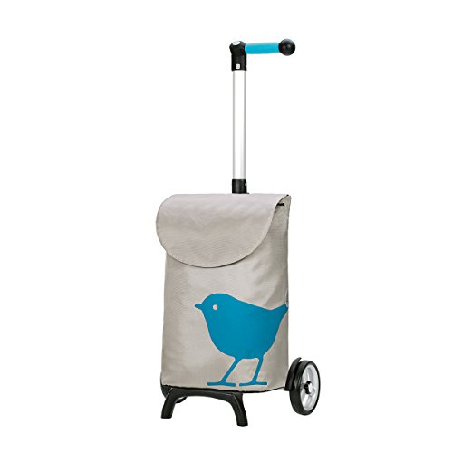shopping-trolley-unus-fun-bird-turquoise-volume-49l-3-years-guarantee-made-in-germany