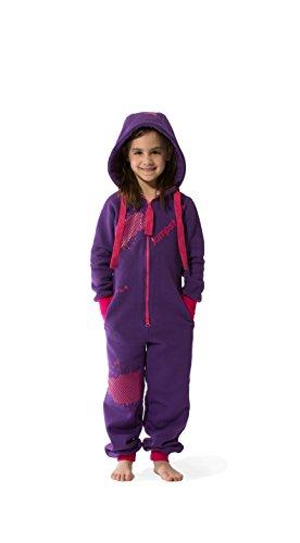 Jumpster Jungen und Mädchen Jumpsuit Kinder Overall Kids Wild Berries Pink M (128-134)