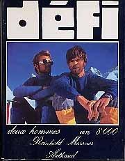 Défi : Deux hommes, un 8000. Collection Sempervivum n° 63 Arthaud