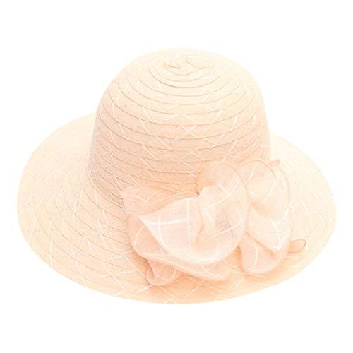 LEEDY Damen Königliche Ascot Derby Cloche Hüte der Frauen Britische Kirchen-Kleid-Tee-Party Eimer Hut Hochzeit Vintage Party Reversible Cloche Hut