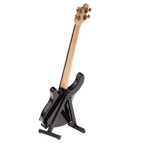 sharprepublic Escala 1/6 Instrumento Musical En Miniatura para 12 Pulgadas Figuras De - Bajo Eléctrico