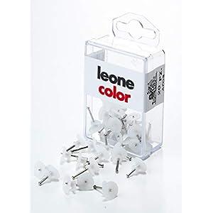 20 Ganci piccoli Leone Dell'Era per appendere quadri con spilli in acciaio temprato - Scatola appendibile - Made in… 31pbezk0bWL. SS300