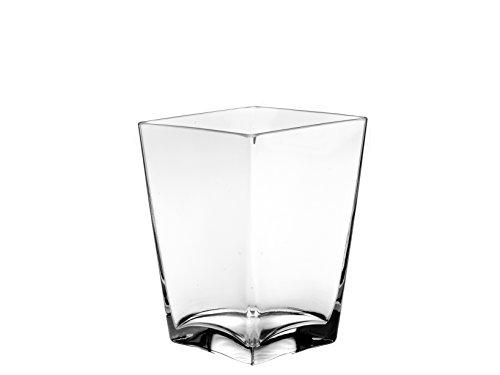 PASABAHCE 80138 Flora Vase Verre, 16 cm, Transparent