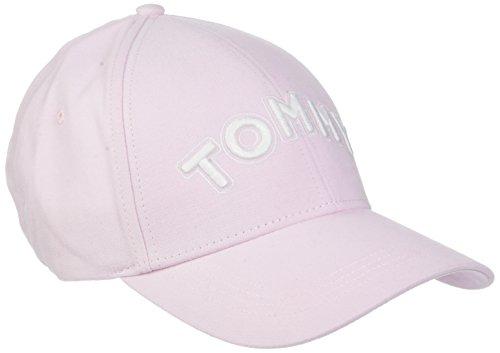 Tommy Hilfiger Damen Baseball Tommy Patch Cap, Pink (Silver Peony 644), One Size