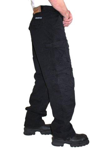 Jet Lag Hose Cargohose 007 Black Black