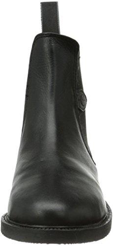 Kerbl - Stivaletti da equitazione, in pelle, unisex, per adulti Nero (Schwarz (schwarz; 19-0303)