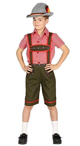 Kostüm Kinder Lederhosen - Fiestas Guirca Kostüm vom Tiroler St. Patrick's Day Bierfest Oktoberfest
