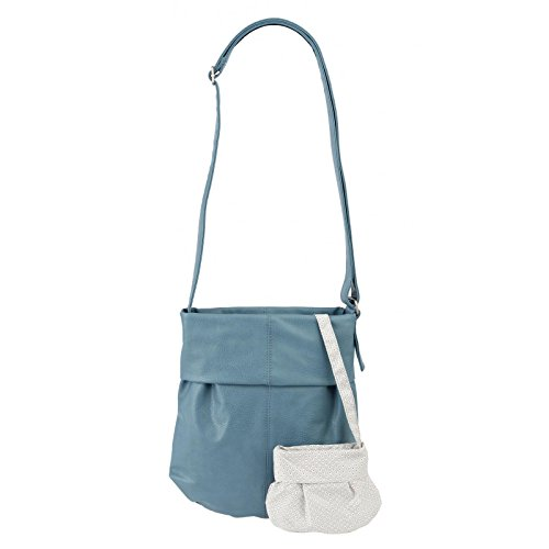 Due Mademoiselle M10 Shopper Tracolla 31 Cm Sky (blu)