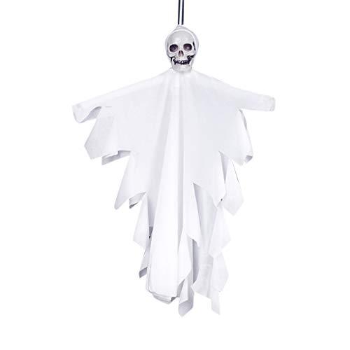 Zuhause Party Deko, Anatomische Tracing, Medizinische Lehre, Halloween Dekoration Statue,Halloween Hanging Pirate Dekoration Hexe Gefangener Reaper Ghost Anhänger (Kleinkind Ghost Kostüm Kissenbezug)