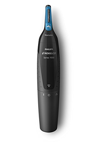 philips-norelco-nose-trimmer-1500-nt1500-49-with-3-pieces-for-nose-ears-and-eyebrows