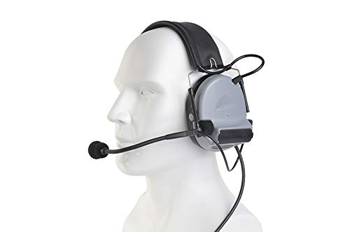 The Mercenary Company Elektronischer Gehörschutz und Headset, geschlossene Ohren, grau