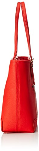 Tommy Hilfiger Honey Ew Tote Love Tommy, Cabas Rouge (Fiery Red)