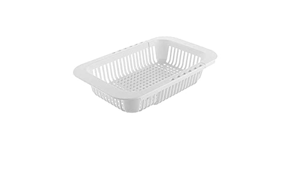 Sink Drain Basket Rack Pull Retractable Storage Rack Sink Shelf 23cm-33cm