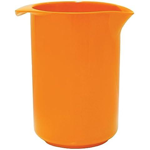 Rosti Mepal - Vaso mezclador (melamina, 1 L), color naranja