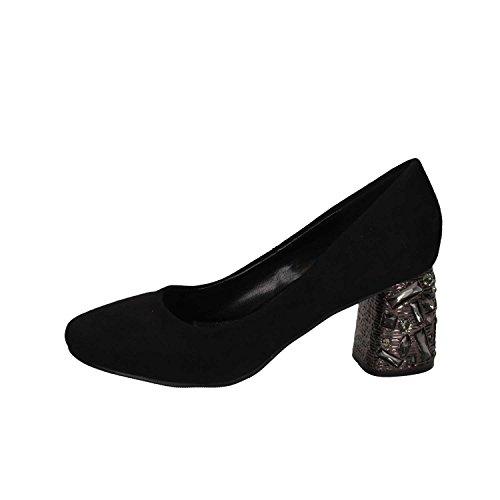Exe' 7109G-J1486 Black Zapatos tacón Mujer Negro