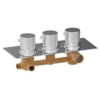 miaoge Wasserhahn Dusche–American Standard–Zeitgenössisch–Thermostatische–Messing (chrom) (American Standard Wasserhahn Dusche)