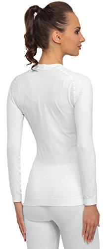 Merry Style Damen Funktionsunterwäsche langarm Shirt thermoaktiv 06 110 Weiß