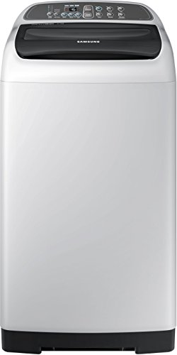 Samsung 6.5 kg Fully-Automatic Top Loading Washing Machine (WA65M4205HV/TL, Light Grey)