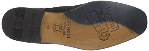 bugatti - 312103023500, Scarpe stringate Uomo Nero (Schwarz (schwarz 1000))