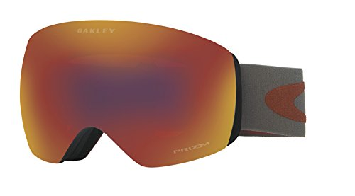 Oakley Herren Flight Deck 705041 0 Sportbrille, Rot (Iron Fired Brick/Prizmtorchiridium), L
