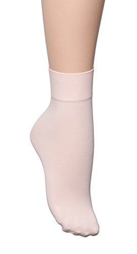 Girls Ladies Thin Smooth 60 Denier Pink Ballet Dance Tights Socks By Katz Dancewear