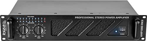 AMP1000-MKII - Ibiza Sound - 2 X 800W SOUND AMPLIFIER