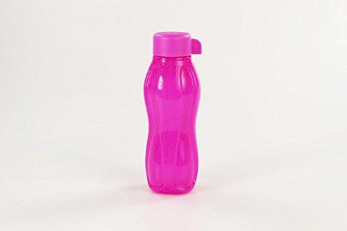 TUPPERWARE Bottela Ecológica de 310 ml neón de color rosa
