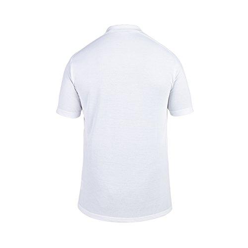 Canterbury s Men'Ausbildung Polo-Shirt England, Baumwolle Weiß - weiß