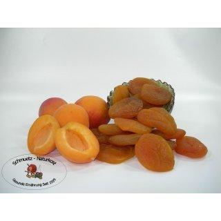 Aprikosen getrocknet, leicht geschwefelt und ungezuckert 2500g von Schmütz-Naturkost