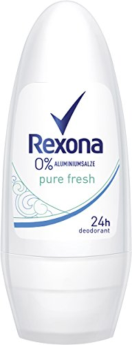 Rexona Deo Roll-On Pure Fresh ohne Aluminium, 6er Pack (6 x 50 ml)