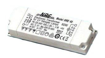 Halogen Trafo NRE-60 60VA 60W 60 W VA Watt Trafo Mini Micro beige Neu -