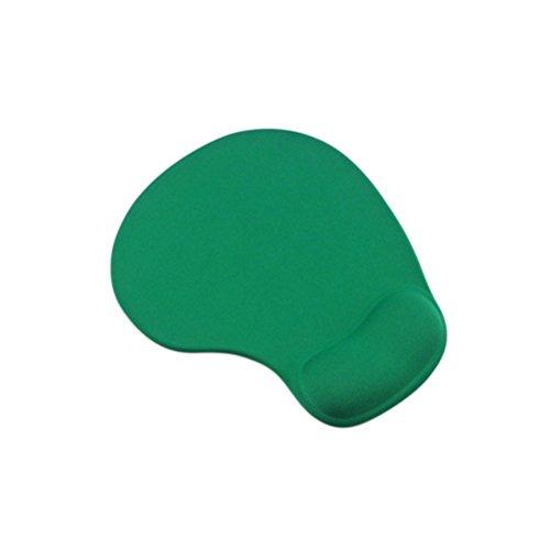 LEDMOMO Mauspad mit Silikon Handgelenk Rest, Tastatur Handgelenk Rest Pad für Gaming Typist Office (grün) - Tastatur-handgelenk-rest-pad