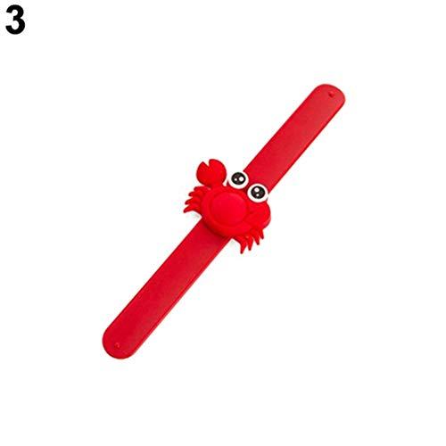 Imagen de collectsound  pulsera repelente de mosquitos para niños y bebés, diseño de dibujos animados, rojo alternativa