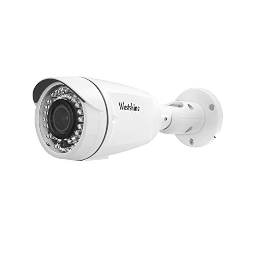 Westshine Home Security Bullet Camera 1080P 2.8-12mm lente varifocal cámara bullet 4 en 1 AHD / TVI / CVI / CVBS cámara con menú OSD IR Cut 42 Leds visión nocturna Home Indoor Outdoor Cameras