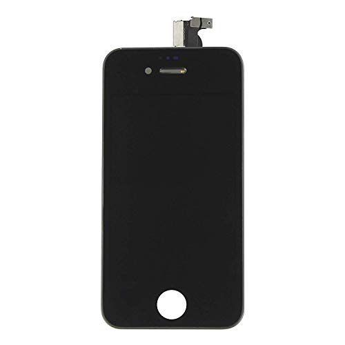TOUCH SCREEN + LCD DISPLAY RETINA+FRAME PER APPLE IPHONE 4S NERO VETRO SCHERMO